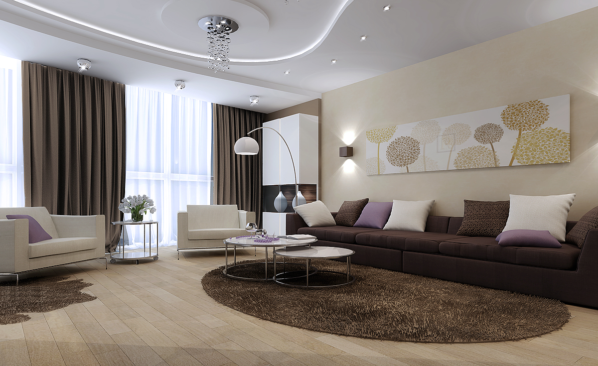 Как быстро изменить интерьер в гостиной?